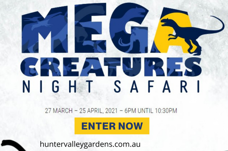 Win a Family Pass to Mega Creatures 2021