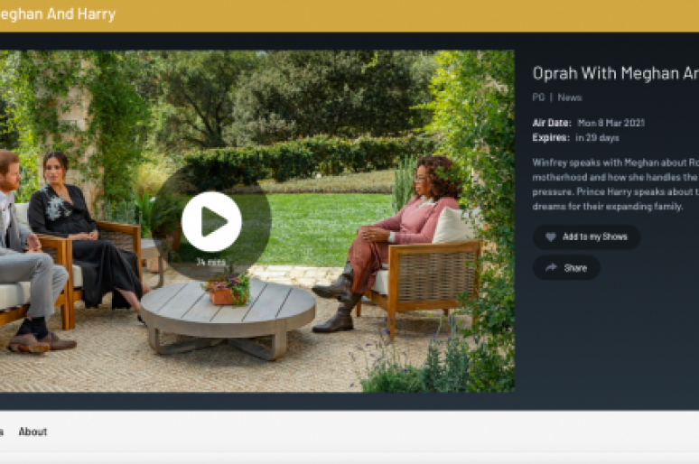 Oprah's Interview with Harry and Meghan
