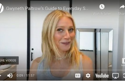 Gwyneth Paltrow's Vagina Products & Questionable Sunscreen Routine